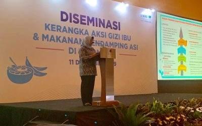 Diseminasi Kerangka Aksi Gizi Ibu dan Pemberian MP ASI di Indonesia