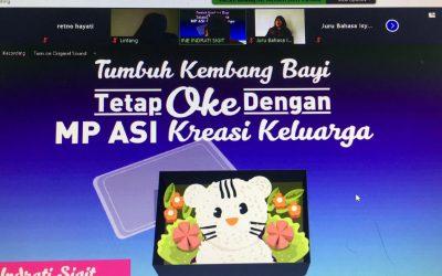 Cuplikan Webinar Tumbuh Kembang Bayi Tetap Ok Dengan MP-ASI Kreasi Ibu
