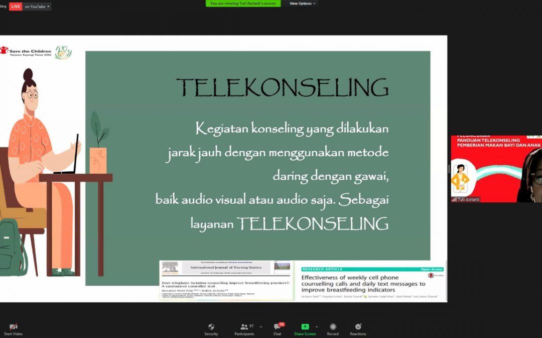 Peluncuran Buku Panduan Telekonseling SELASI