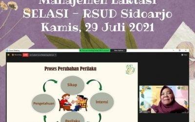 Hari ke-4 Pelatihan Manajemen Laktasi SELASI – RSUD Sidoarjo